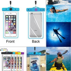 Compass Waterproof Bag With Luminous Function For 5.5'' Phone